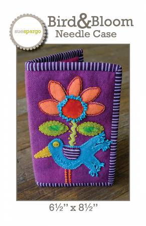 Bird and Bloom Needle Case Pattern