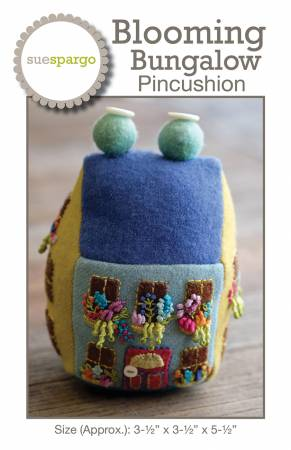 Blooming Bungalow Pincushion Pattern