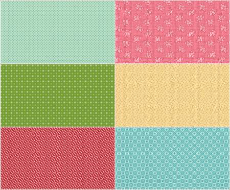 Granny Chic Scrappy 6th Panel Two Panel size is 36 x 43. SSP8525-TWO