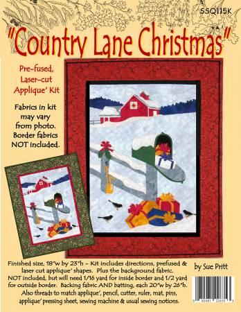 Country Lane Christmas Kit