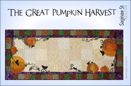 Great Pumpkin Harvest Pattern