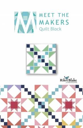 Meet The Makers Enamel Pin Alternating Block