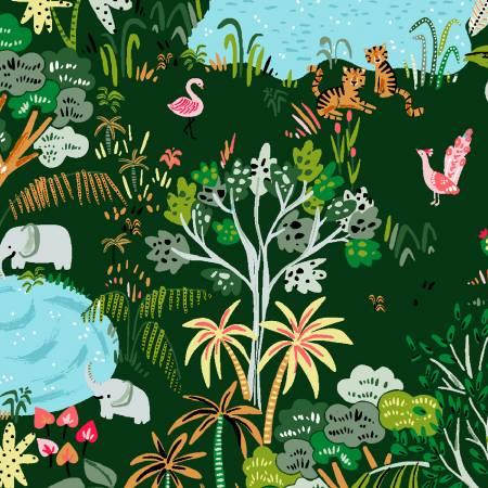 Lion Around Ivy Jungle Life by Dear Stella