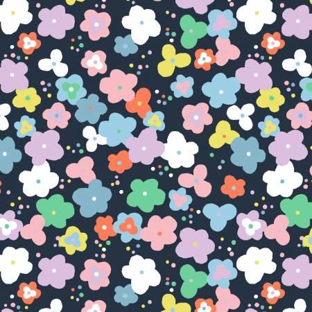 Dear Stella - Navy Pop Floral