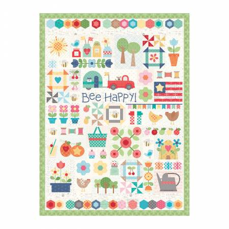 Bee Happy Quilt Puzzle by Lori Holt *Now Taking Pre-Orders*