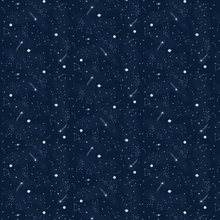 Blueprint Night Sky