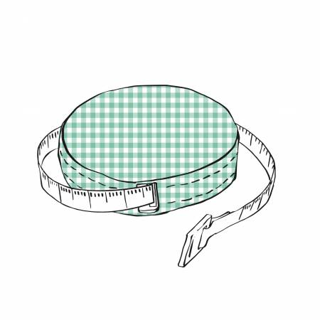 60 Inch Fabric Covered Tape Measure