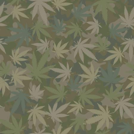 Incognito Flying High Camo Cotton - Grass