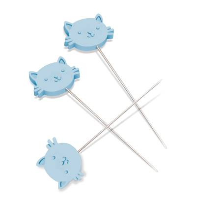 Cat Head Pins By Bev Mccullough
