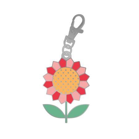 Flea Market Flower Charm