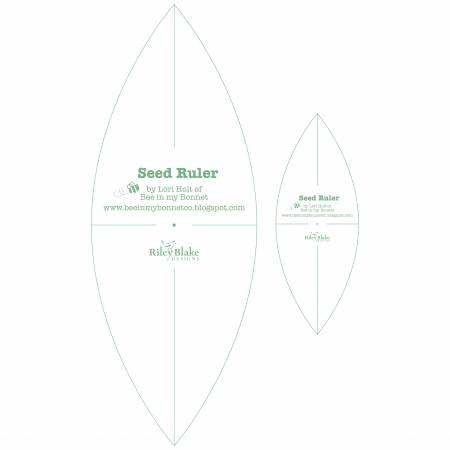 Seed Ruler Set By Lori Holt Of Bee In My Bonnet, 2pcs