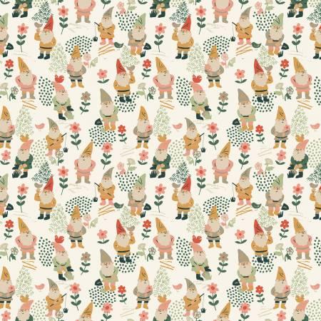 Cream Pot It Like It's Hot Gnomes for Dear Stella ~1863 cream~