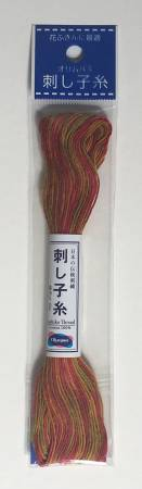 Sashiko Thread #93 Short-Pitch Variegated 22yd