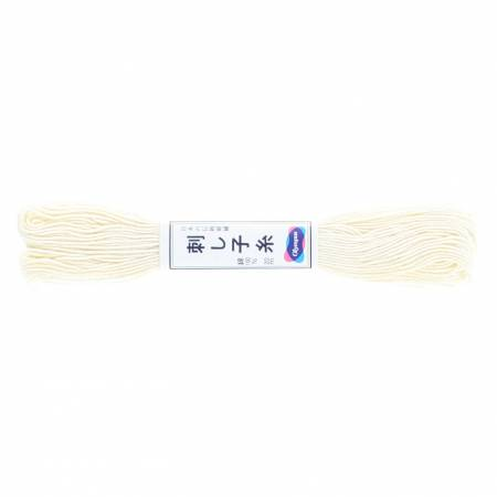 Olympus Sashiko Thread 22YD Off White
