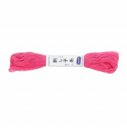 Olympus Sashiko Thread Hot Pink 22yd