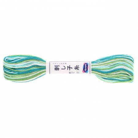 Olympus Sashiko Thread 22yd Variegated Color 51