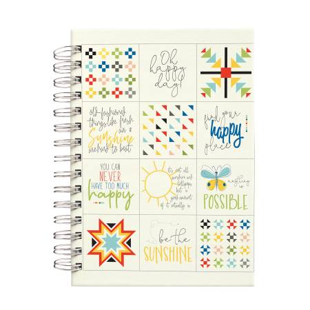 Sandy Gervais Oh Happy Day Notebook