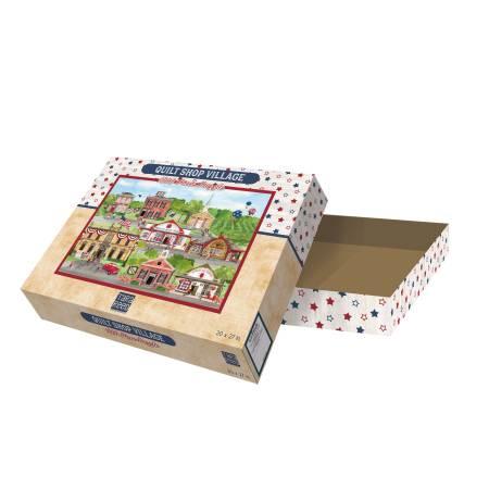 Tara Reed Quilt Shop Village Puzzle