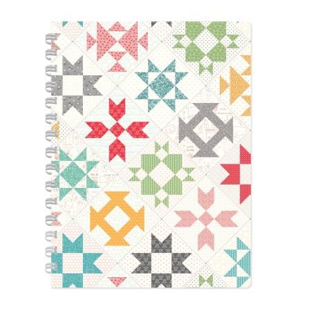Lori Holt Stitch Grid Notebook 9in x 12in