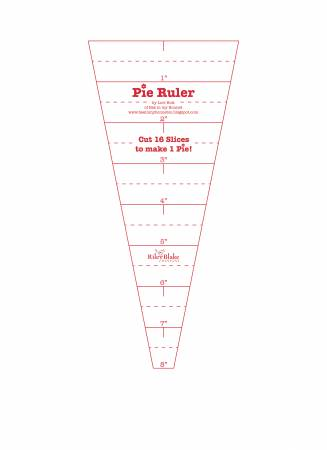 Lori Holt Pie Ruler 22-1/2 Degree