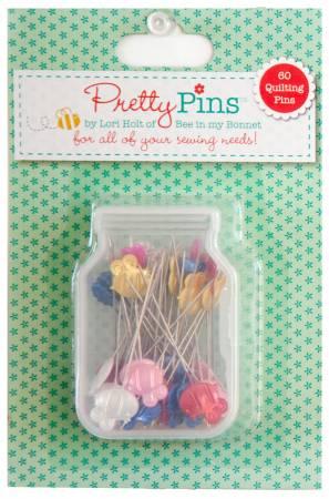 Pretty Pins Quilting Pins 60ct