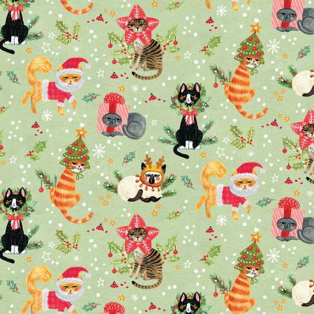 Mult Not Ameowsed Christmas Cats