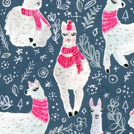 Dear Stella Moonlight Winter Llamas