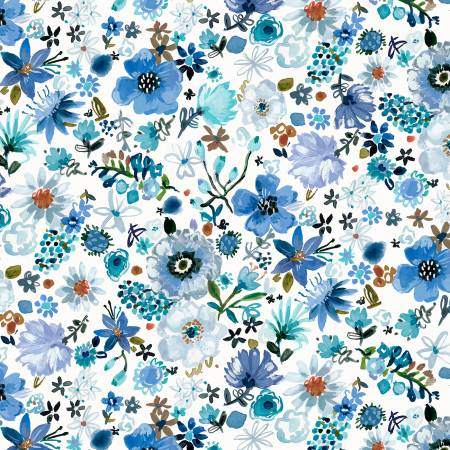 Blue Crush White Blue Cool Garden