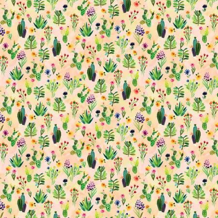 Stella - DAW1503 - Multi Cacti on Blush