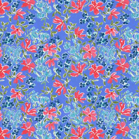 DEARS- American Summer Multi Patriotic Floral