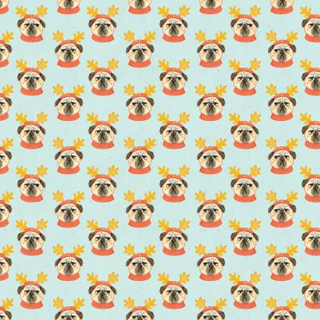 Bah Hum-Pug Christmas- Pug Life