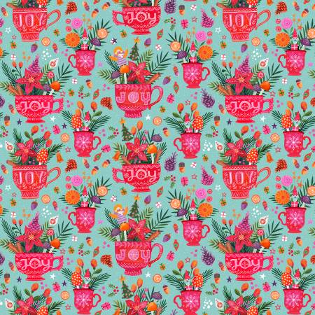Joy To The World   Rebel Without a Clause Fabric by Miriam Bos for Dear Stella