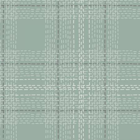 Dash Plaid Flannel SPRUCE