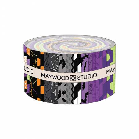 Hometown Halloween - 2-1/2in Strips - 40pcs/bundle - Maywood Studios - Kimberbell - ST-MASHTH