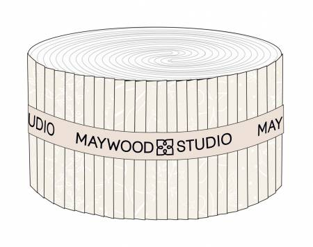 Maywood Solitaire White 2.5 Strips (40pc)