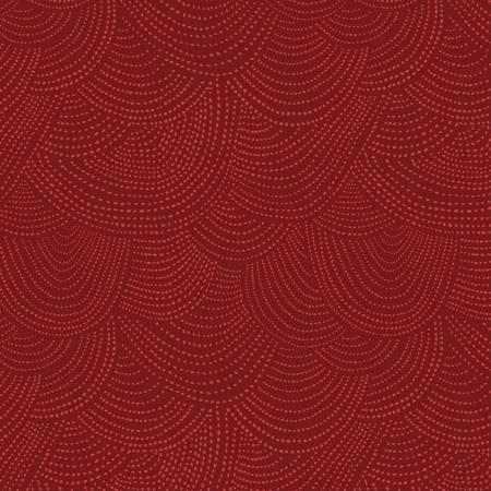 Scallop Dot Dear Stella SRR512 Cranberry