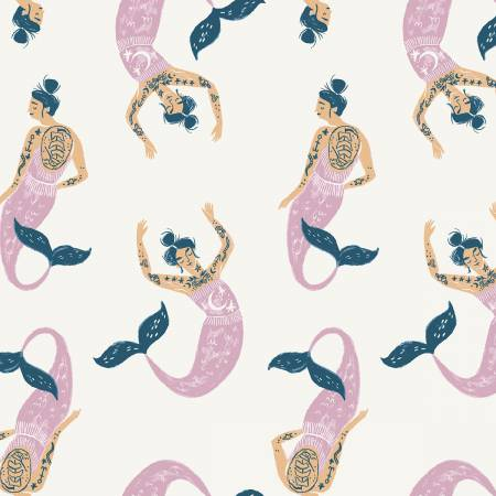 Marshmallow Mermaids