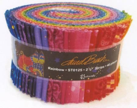 Laurel Burch Jelly Roll Rainbow