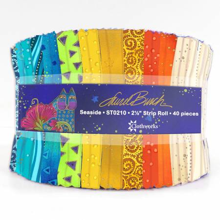 2.5 Fabric Strips Seaside