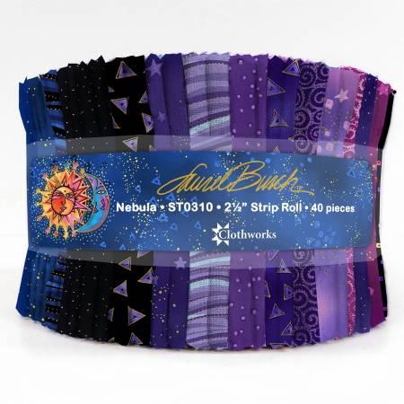 Laurel Burch 2-1/2in Strips LB Basics Nebula, 40pcs