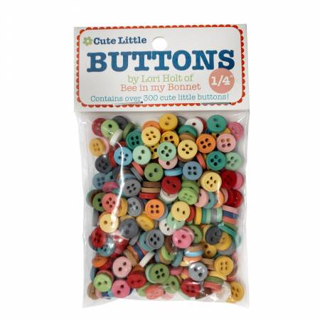 Lori Holt Cute Little Buttons 1/4in 300ct