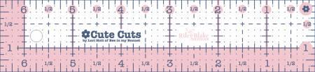 Cute Cut Ruler Rectangle 1-1/2in x 6-1/2in