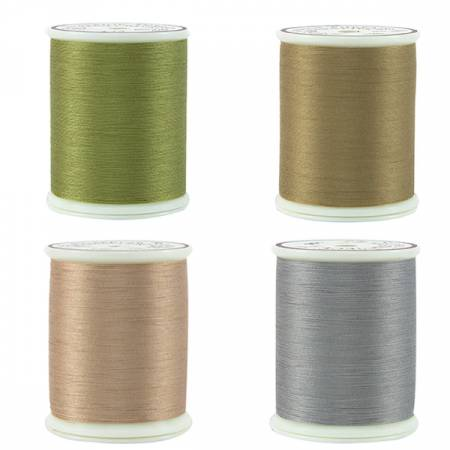 Thread Set Masterpiece Neutrals Darks 4 spools