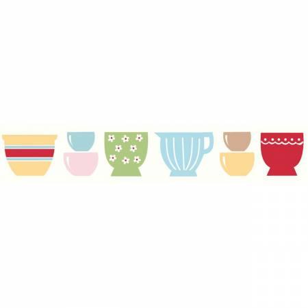 Bake Sale Ribbon - Bowls  25 yd Spool