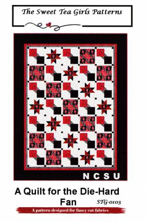 A Quilt For the Die Hard Fan STG0103
