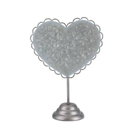 Stacy West Metal Heart Stand