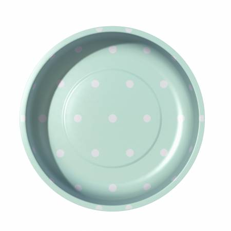 Sew Together Magnetic Pin Bowl Polka Dots Mint