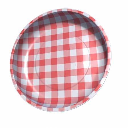 Sew Together Magnetic Pin Bowl Gingham Red