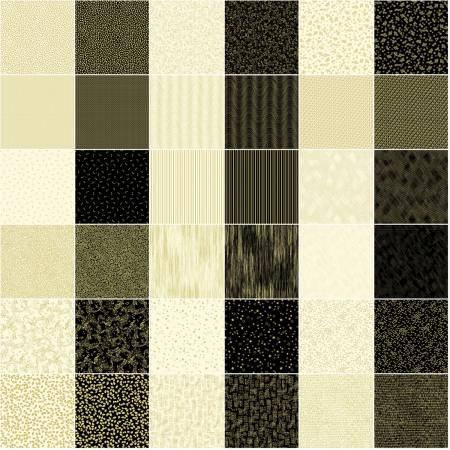 2-1/2in Strips Metallic Mixers Gold 40pcs/bundle
