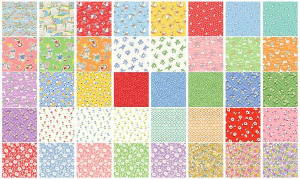 Windham Assortment Storybook Vacation 40pcs x 10yds